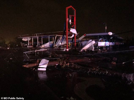 Missouri's Capital Takes Direct Hit From a Violent Tornado