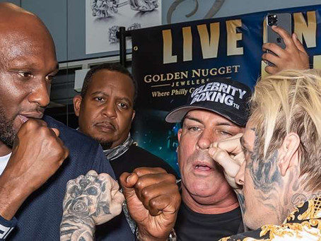 Lamar Odom Knocks Out Aaron Carter in Celebrity Boxing Match