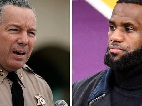 LA Sheriff Challenges Lebron James to Match Reward Money