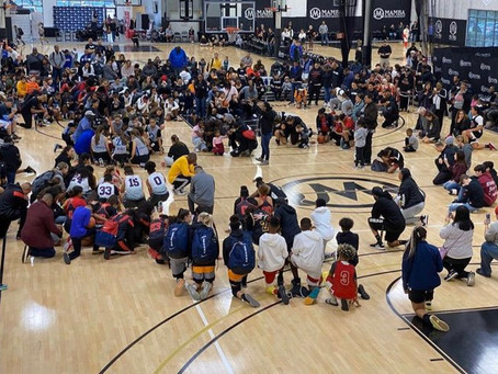 Heartbreaking Photo Shows Young Athletes Paying Tribute at Kobe Bryant's Mamba Academy