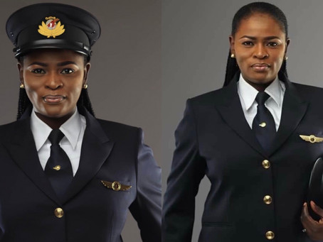 First Nigerian Female Pilot To Fly The Boeing 787 Dreamliner.