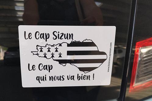 Autocollant Le Cap Sizun qui nous va bien !