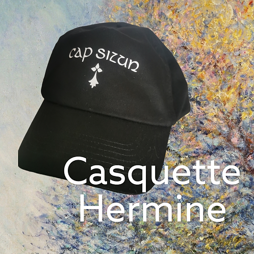 Casquette Cap Sizun Hermine