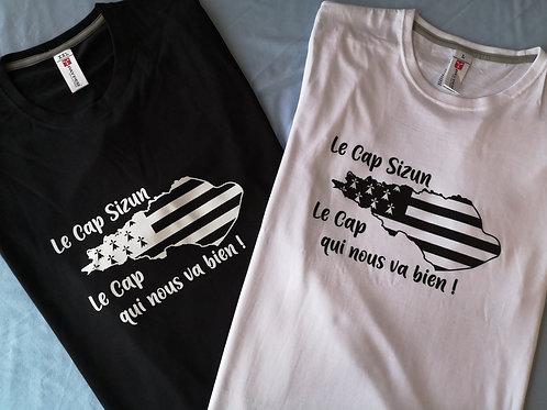T-shirt Carte Cap Sizun
