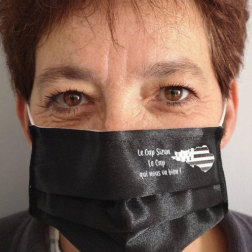 Masque Satin Cap Sizun qui va bien