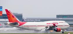 OUTGOING INDIAN AIRCRAFT