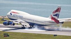 INCOMING INTL. AIRCRAFT