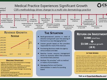 Medical Practice Experiences Significant Growth