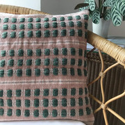 POTTERGATE BESPOKE Ivy-Cream-Blush  Special commission cushion order based upon our Pottergate design.  Please contact Helen at Studio Milena if you would like more details about special commission order.