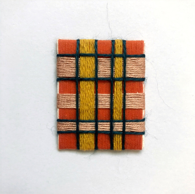 Mini Framed Textile Art