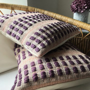 POTTERGATE BESPOKE Lavender-Ash Grey-Blush  Special commission cushion order based upon our Pottergate design.  Please contact Helen at Studio Milena if you would like more details about special commission order.