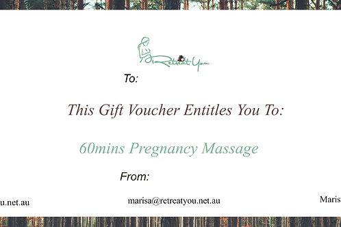 60 Minute Pregnancy Massage