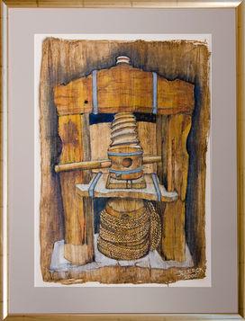 Antique Winepress