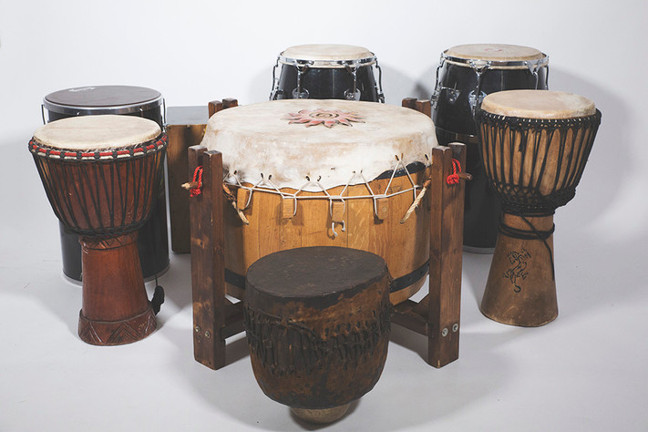 Tambores ceremoniales del mundo