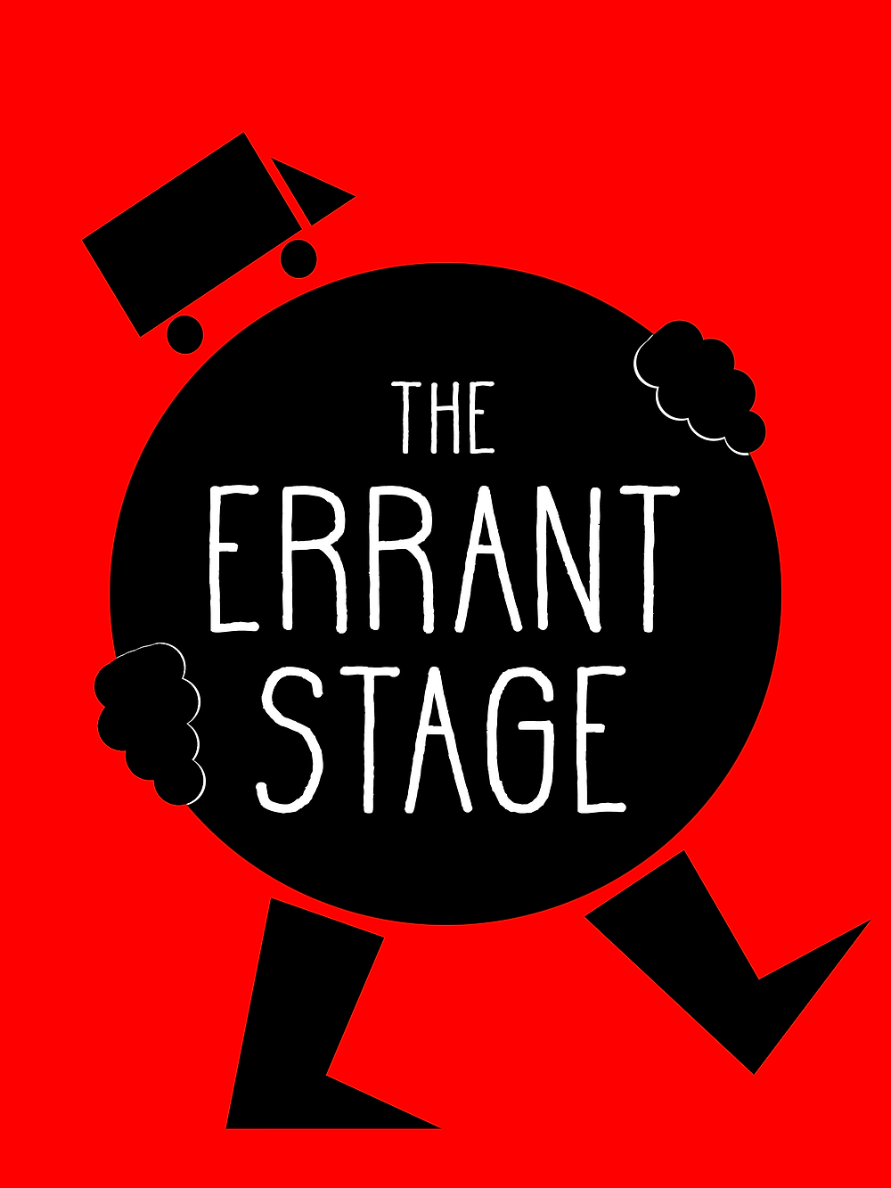 The Errant Stage logo on red background