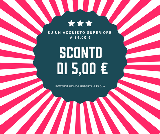 SCONTO 5,00 €