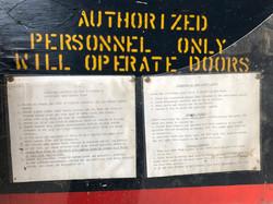 Arch Hangar Door Instructions