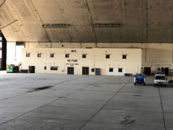 Arch Hangar Interior
