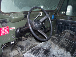 Jeep Tug Interior