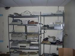 Leftover Equipment