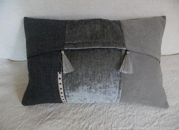 Coussin gris