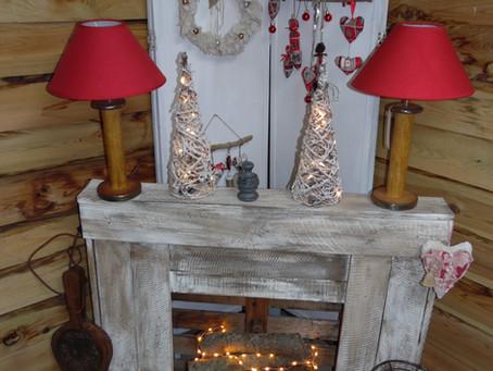 Fabriquer une fausse cheminée pour Noël