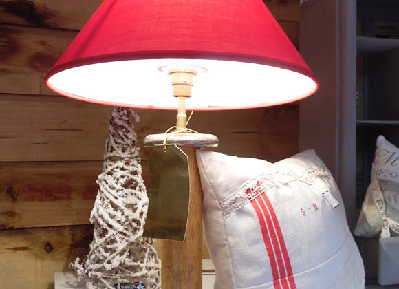 Duo lampes bobines anciennes