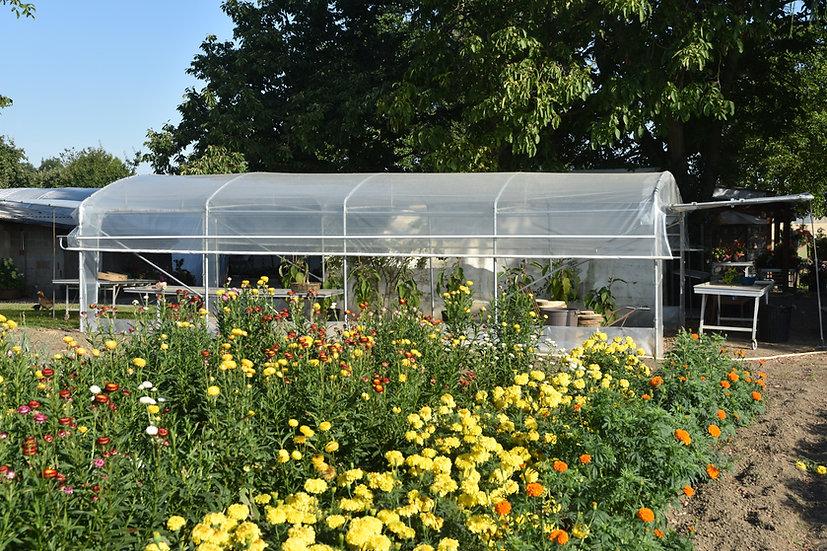 Grand Jardin x L  5.50m   Aérations  latérales