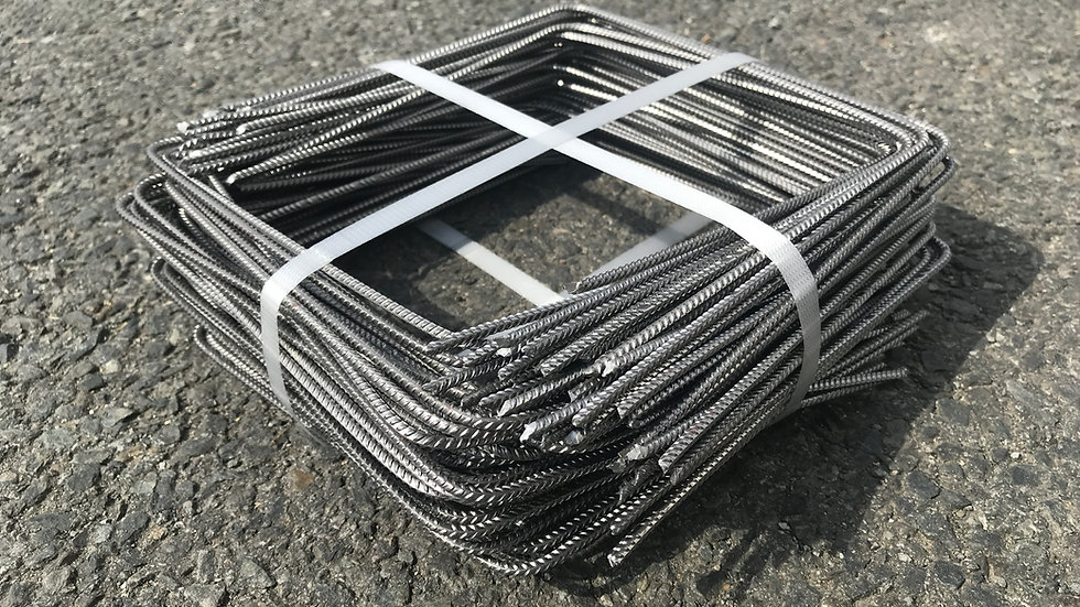 Agrafes acier toile de paillage - 20x20x20cm - Diam. 4mm