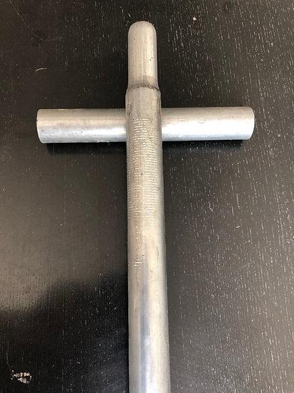 croix d'ancrage  pour tube  diamêtre x 25mm
