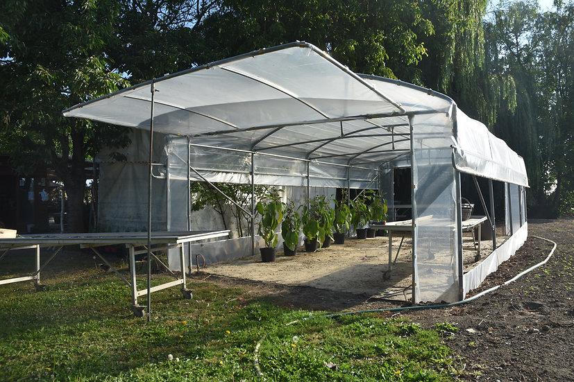 Grand Jardin x L  5.00m   Aérations  latérales