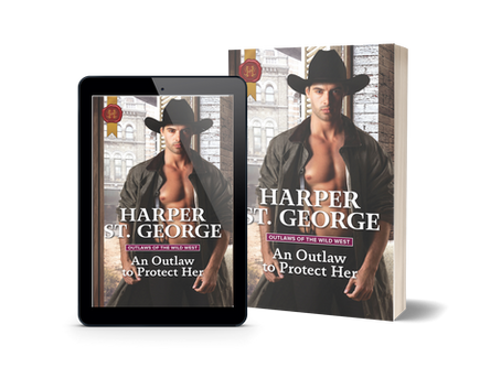 An Outlaw to Protect Her is now live!