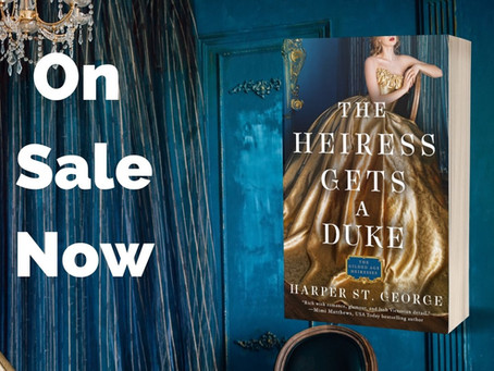 The Heiress Gets a Duke is now available!