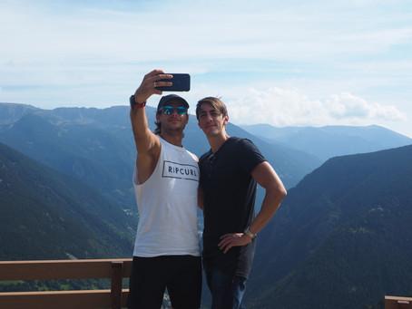 Week 35 – Days 240–246 – An uphill Marathon 68 in Andorra, ice cream stop for Marathon 69 in Nice, M