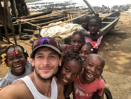 Week 26 – Days 177-183 – A run around the island of São Tomé and Príncipe, a solo run in Namibia dre