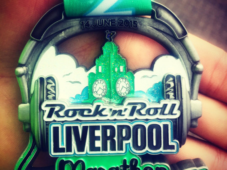 Day 164 – Liverpool Marathon & The Broken Toe