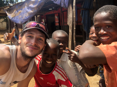 Week 20, Days 135-141 – Burned-out cars and dead animals on Marathon 46 in Ivory Coast, and meeting