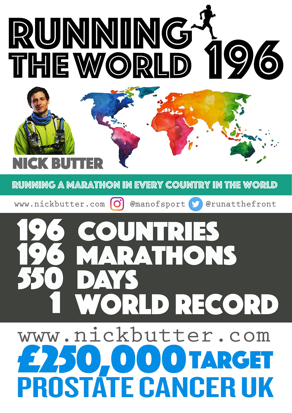 Running The World Poster 26th June 20172