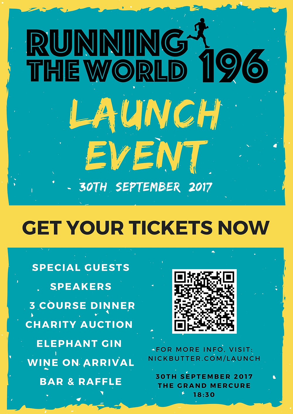Launch Event Poster
