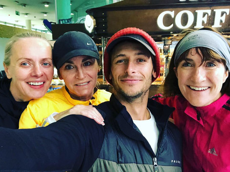 Week 41 – Days 283–289 – Jet lag, gossip during Marathon 80 in Dublin with the ladies (and Mark), be