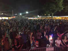 20,000 People at Thibodaux Firemans Fair!
