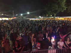 20,000 People at Thibodaux Firemans Fair!