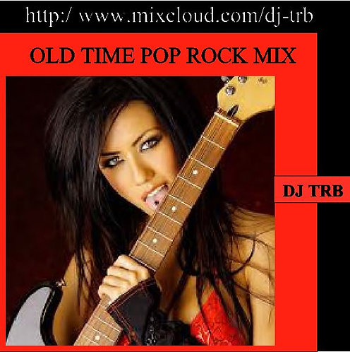 Old Time Pop Rock Mix on USB