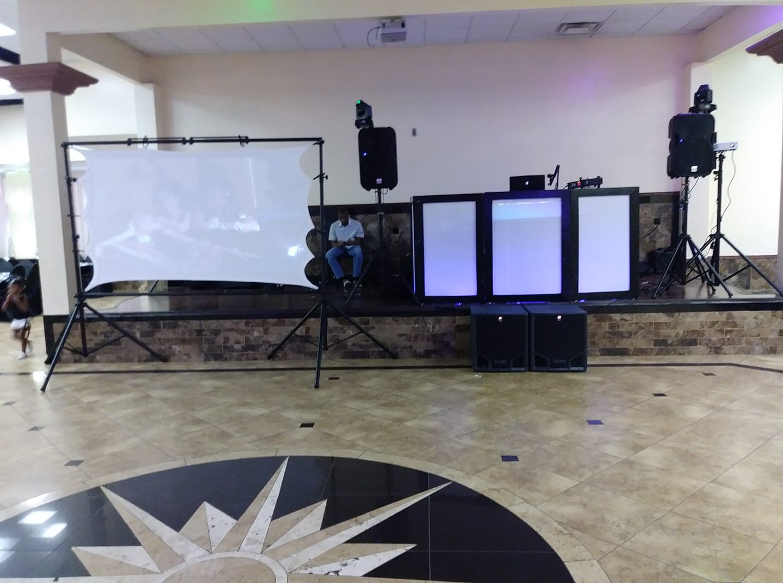 Gilbert & Crystal Wedding Video Setup