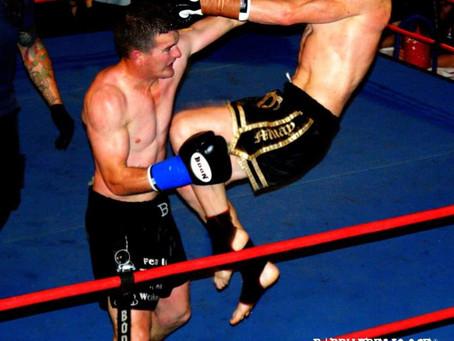 Muay Thai Pro Fighter Alan Walkington 2011
