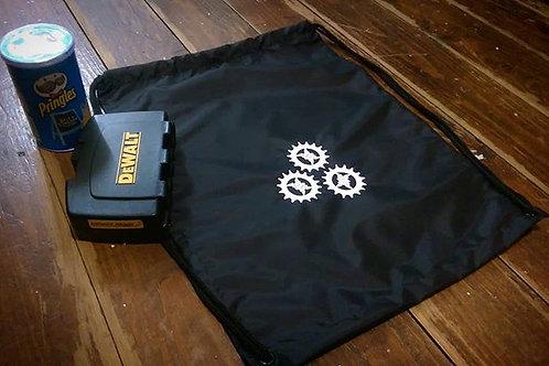 'Cog' Draw String Gym Bag