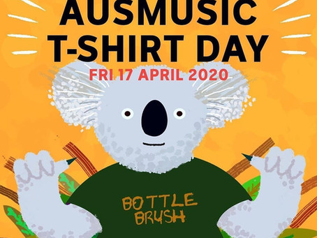 AUSMUSIC T-Shirt Day 2020!