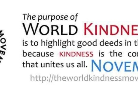 World Kindness Day 2020 - A Better World Initiative