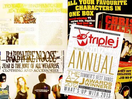 triple j 2012