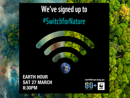 Earth Hour 2021 - A Better World Initiative